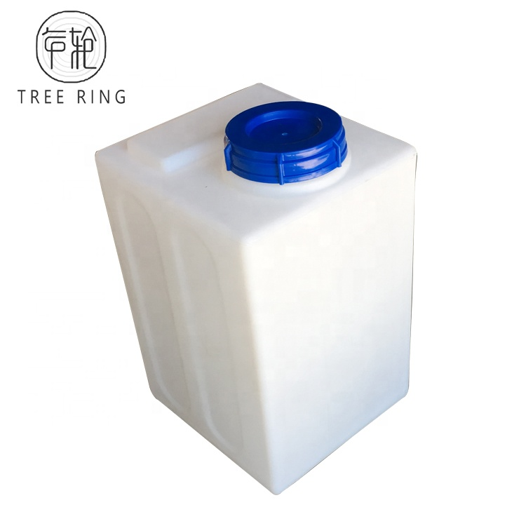 60Litre Polyethylene Square Water Storage Tank <strong>Container</strong> Including Tap For Motorhome Caravan Mobile Garden