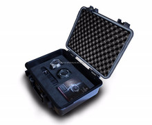 Plastic waterproof IP68 watch box with foam