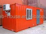 finished prefab house/ container office open side