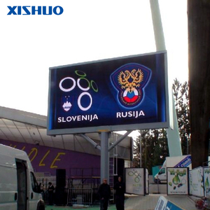 P8 Full Color Programmable LED Display Custom Stadium Bus Gas Station Screen
