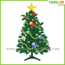 wall sticker decoration transparent sticker use for merry Christmas