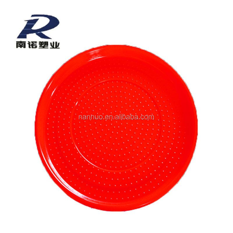 chicken feeding tray plate feed poultry