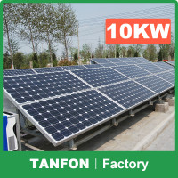 Industrial and home use 1kw 10kw off grid solar home system / solar energy for provision of electricity in West Africa