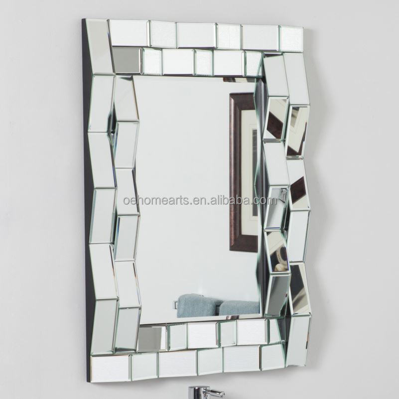 private design wholesale China Manufacturer cut mirror pieces