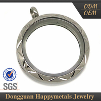 Sales Promotion Classic Design Stainless Steel Floating Charm Locket Wholesale