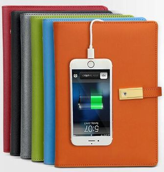 Mobile Phone 8000 Amh Wireless Chargeable Notebook Powerbank Power Bank With 8GB 16GB U Disk