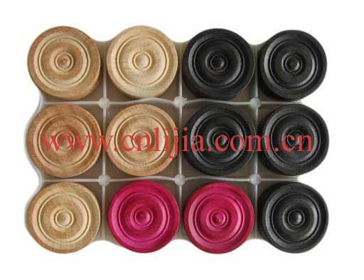 wooden carrom coins