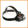 Alloy Shell 1800lm Cree XPE 3 Mode 18650 Rechargeable Headlamp
