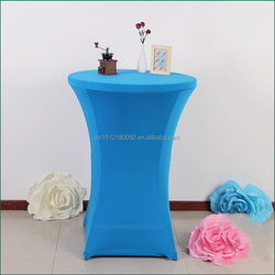 Wedding/Hotel/Banquet Wholesale Cocktail Spandex Lycra Table Cover