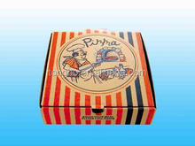 Food Packing Gift Decorate Brown Kraft Pizza Paper Box