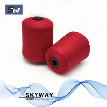 Core spun blended yarn spandex acrylic nylon poly blend yarn
