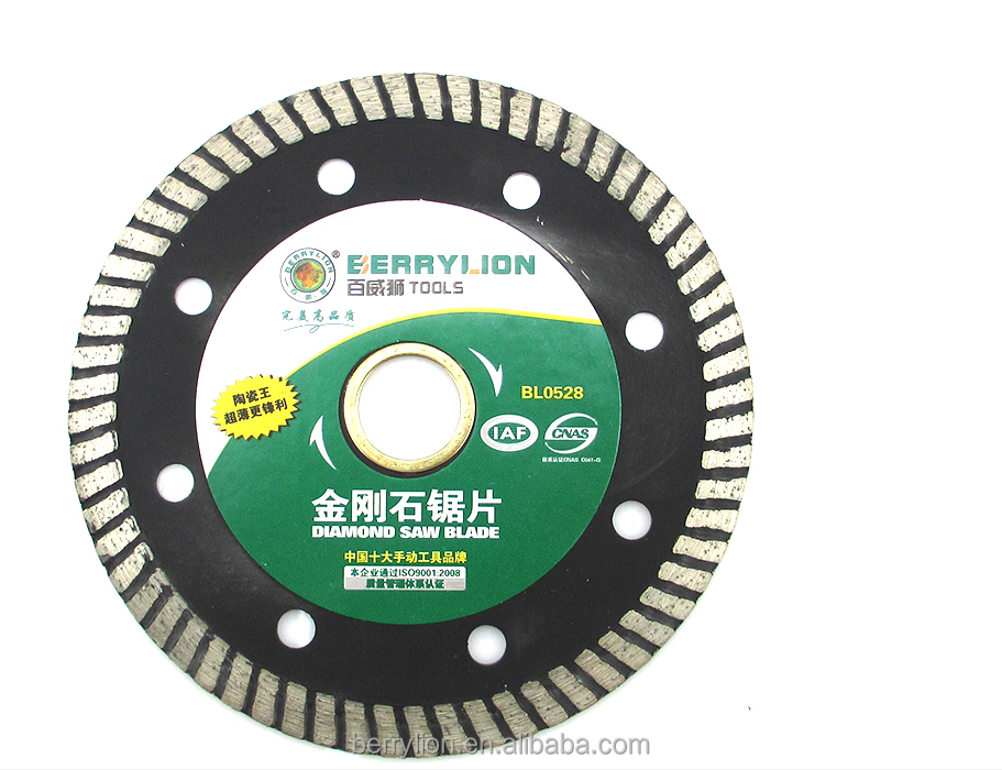 Berrylion Ceramic Diamond Saw Blade JR-2 Steel Diamond Saw Blade