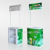 Wholesale Flexible Demo Table/Promotion Tribune/Sampling Desk