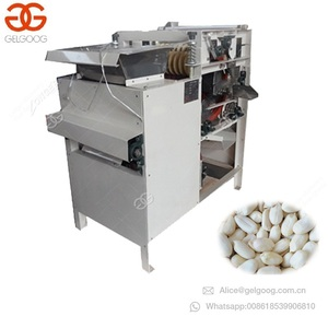 Automatic Hazelnut Processing Shelling Peanut Groundnut Red Skin Removing Cracking Crusher Almond Areca Nut Peeling Machine