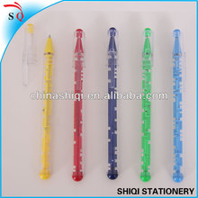 High-quality colorful transparent maze pen for fun