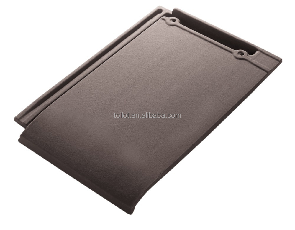 China competitive Ceramic Coffee roof tiles 410*270 With Top Quality
