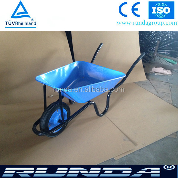 Strong qualit 4cbft Concrete steel Africa wheelbarrow
