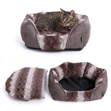 2017 china newest design luxury pet small dog beds,small cat bed cute