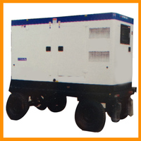 Emergency dedicated vehicle generator