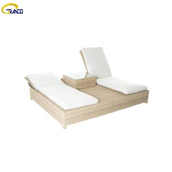 Good quality outdoor patio daybed set