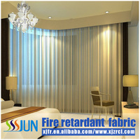 Modern blinds falme retarded curtain for hotel