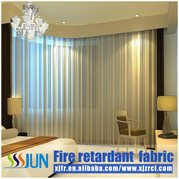 Modern blinds flame retarded curtain for hotel