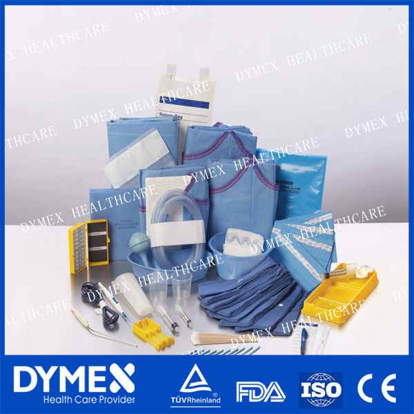 Medical Supplies disposable Sterile Surgical Pack/Medical surgical drape packs