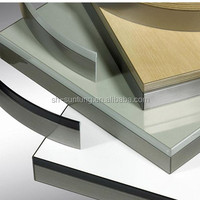 decorative furniture bicolor metal edge banding trim