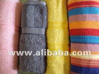 DYED TERRY TOWELS STOCK LOTS