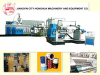 Paper and PE co-extrusion coating machine for food package paper Aluminum Coating and Laminating machine