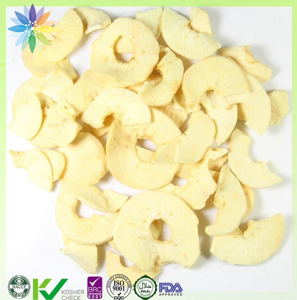 freeze dried apple slice fruit