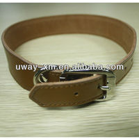 UW-PDC-303 Super strong leather large dog collar with alloy buckle