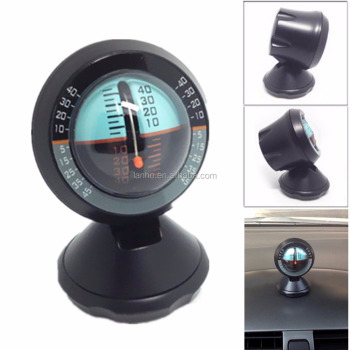 Multifunction Car Inclinometer Slope Outdoor Measure Tool Vehicle Compass