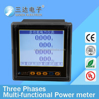 Top Selling Products In Alibaba LCD Panel Multifunction Power Meter