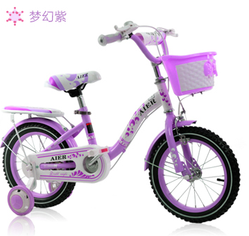 hot sale children bicycle with training wheels 12inch inflatable tire kids bike