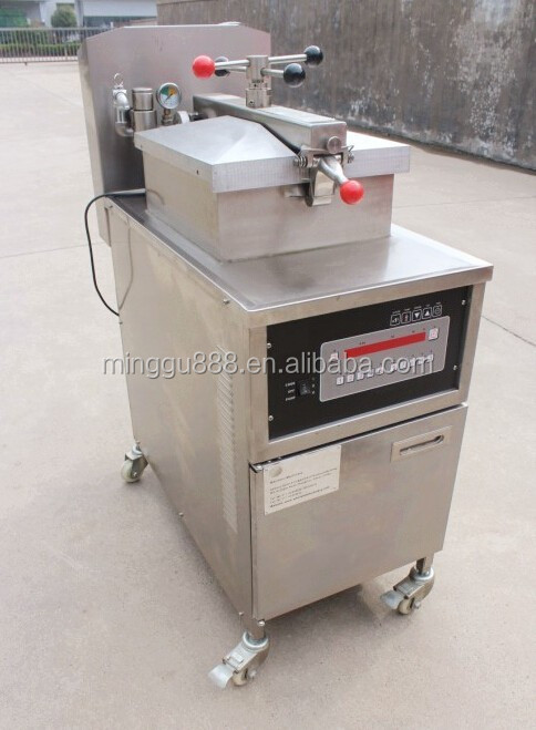 Henny penny and broaster similar design factory sale KFC restaurant fried chicken leg pressure fryer (CE ISO9001)