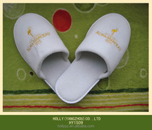 100% Cotton terry hotel disposable slipper