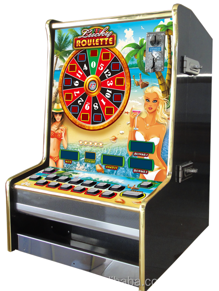 Electronic Lucky Roulette Table Machine