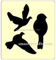 Bird shape die cut tys092 scrapbooking die cutters 15.8mm thick fit sizzix big shot