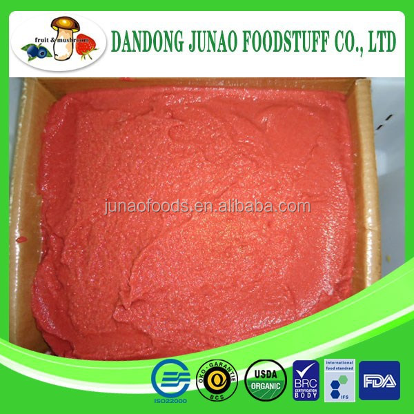 Delicious fresh freeze strawberry puree