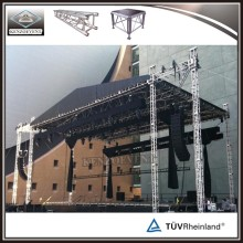 outdoor concert sound and light truss system curved truss system