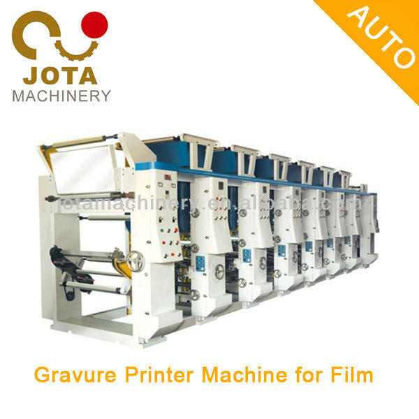 Automatic 4 Color Rotogravure Printing Press