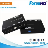 2015 HDMI Transmitter And Receiver Full HD 1080P Video HDMI KVM Extender 120M with IR