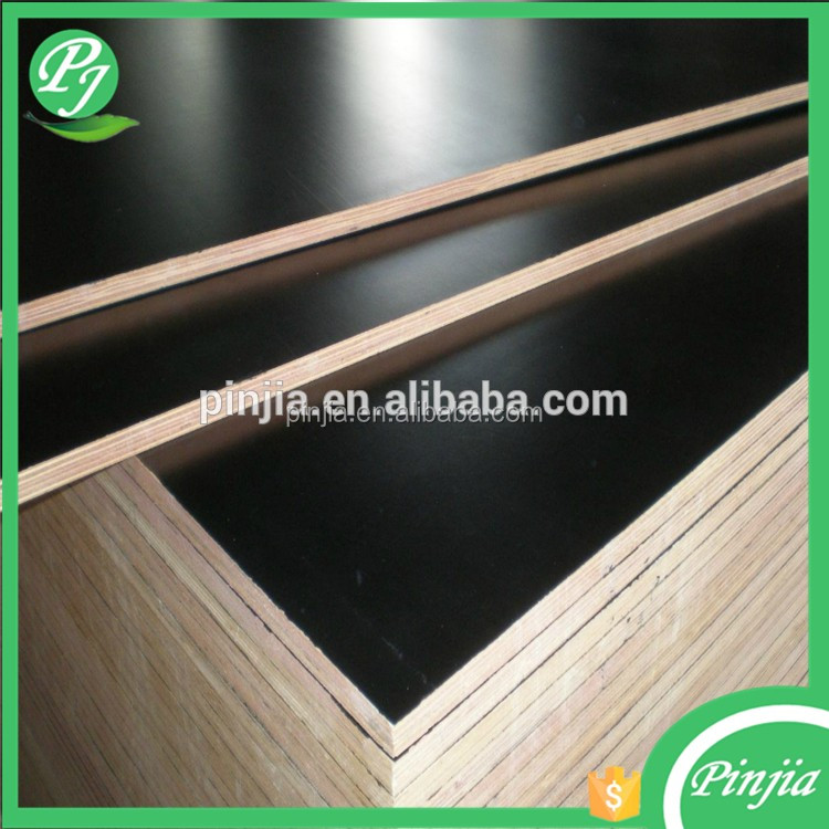 18mm two-times hot press film faced plywood for construction/marine plywood hardwood core