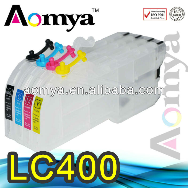 Cartucho de tinta de Brother MFC-J6510DW,J6710DW,J6910DW LC400 ink cartridge for brother lc400