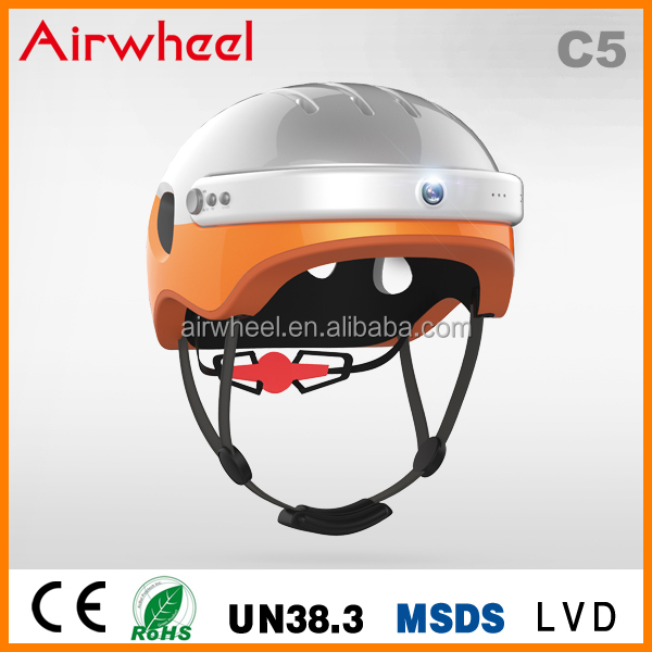 Helmet in Motocycle Helmets 2016 Best popular Helmet C5 from Airwheel latest technology intelligent