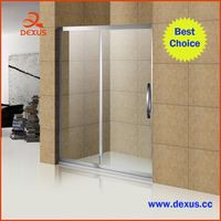High quality Stainless Steel Glass Shower Screen Price