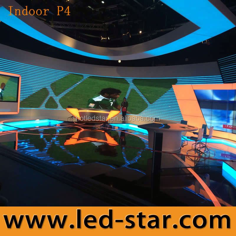 Led Star indoor P4 die-casting aluminum china wall video led display china manufacturer supplier