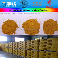 2014 hot sale factory yellow iron oxide for construction structures pigment/colorant/paint