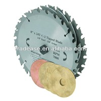 "8"" C2 Tungsten Carbide Tipped 22 Tooth Dado Blade Set With Saws And Chippers circular saw blade saw blade for cutting paper"